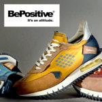 【日本初上陸!】希少なイタリア製メンズスニーカー『Be Positive/ビーポジティブ』