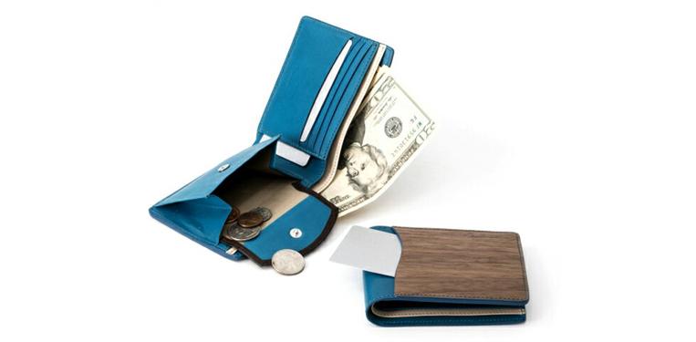 二つ折り財布 機能性