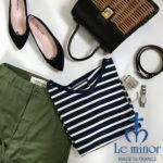 『Le minor(ルミノア)』2020年新作ボーダーカットソー入荷!!