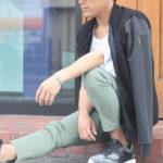 迷いがちな今の時期のコーデはやや薄手のジャケットで男らしくキメるべし!~NO EXCESS~