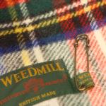 【Xmasギフトに! TWEEDMILL/ツイードミル】英国生まれのウールチェックマフラー