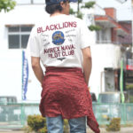 AVIREX新作Tシャツをダメ―ジデニムで王道アメカジコーデ!