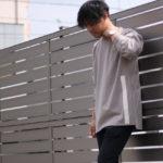 【完売必至!】Shuna b.n.bオリジナルビッグシルエットカットソー入荷!