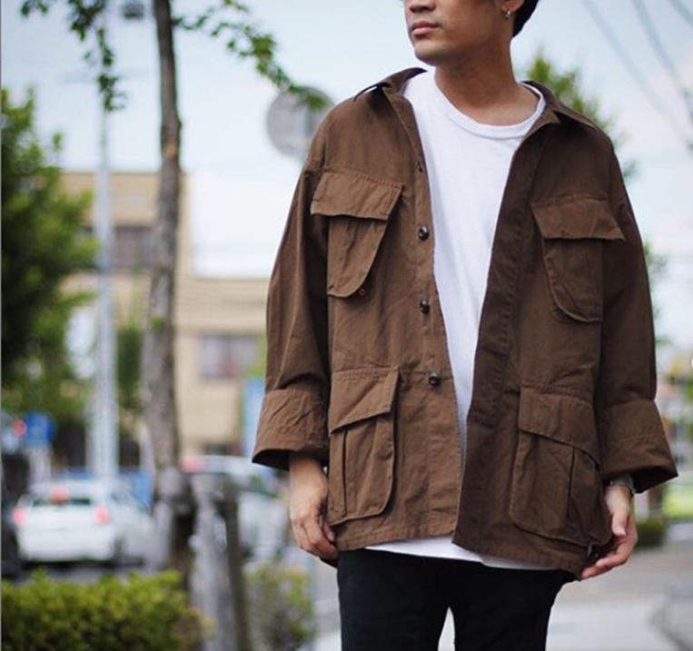 ミリタリーシャツジャケット1
