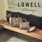 【毎日使いたい機能的な大人オシャレバッグ】LOWELL Things / ロウェル シングス